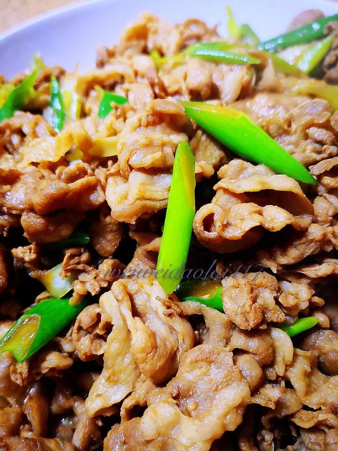 老北京葱爆羊肉