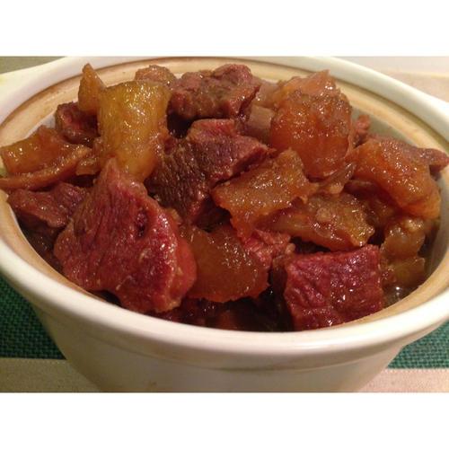 台式紅燒牛腩牛筋