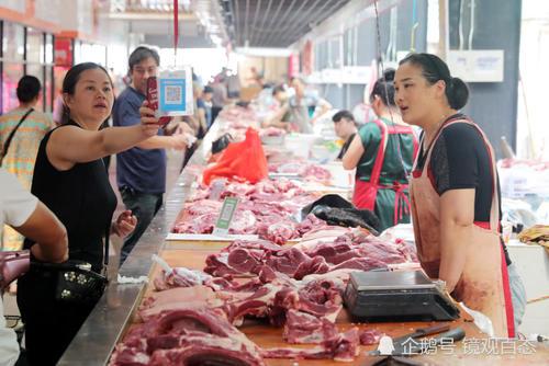 猪牛羊肉价格上扬市民购买热情不减