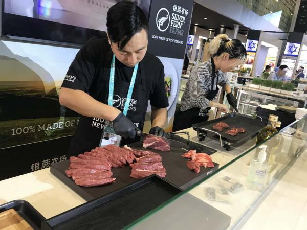 上海梅林旗下新西兰牛羊肉加工巨头想借进博会拓展中国市场