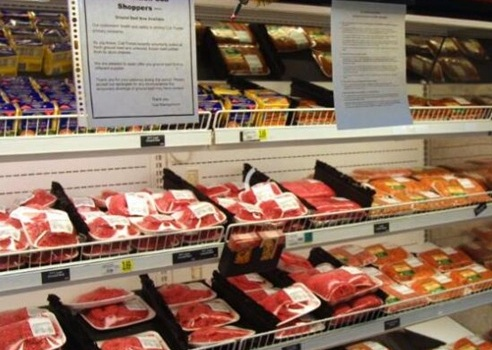 美国召回万磅牛肉 与沙门氏菌的爆发有关已有246人生病