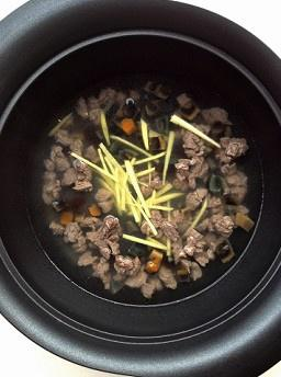 电饭煲版皮蛋瘦肉粥的做法 步骤8