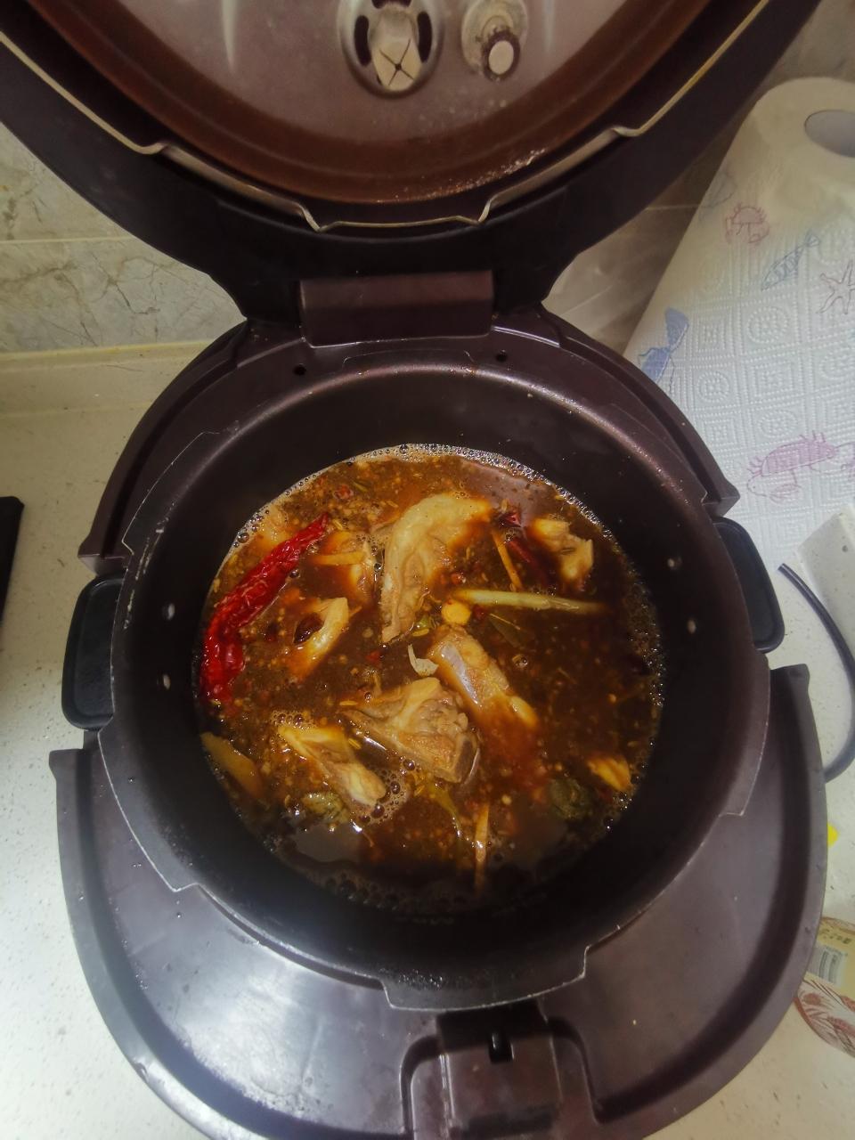 好吃的羊蝎子羊排火锅的做法 步骤9