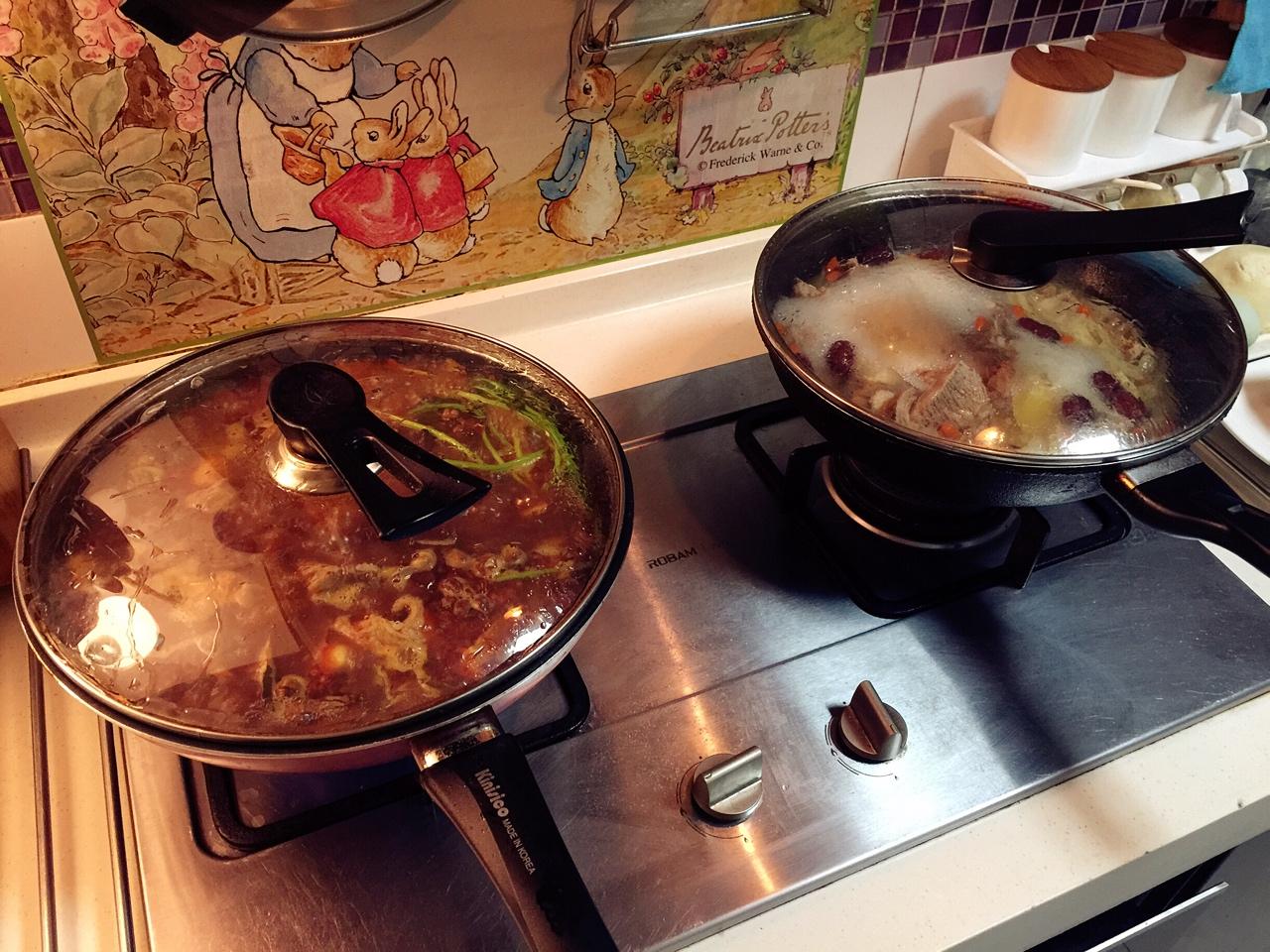 堂妈教你做红汤羊蝎子火锅的做法 步骤27