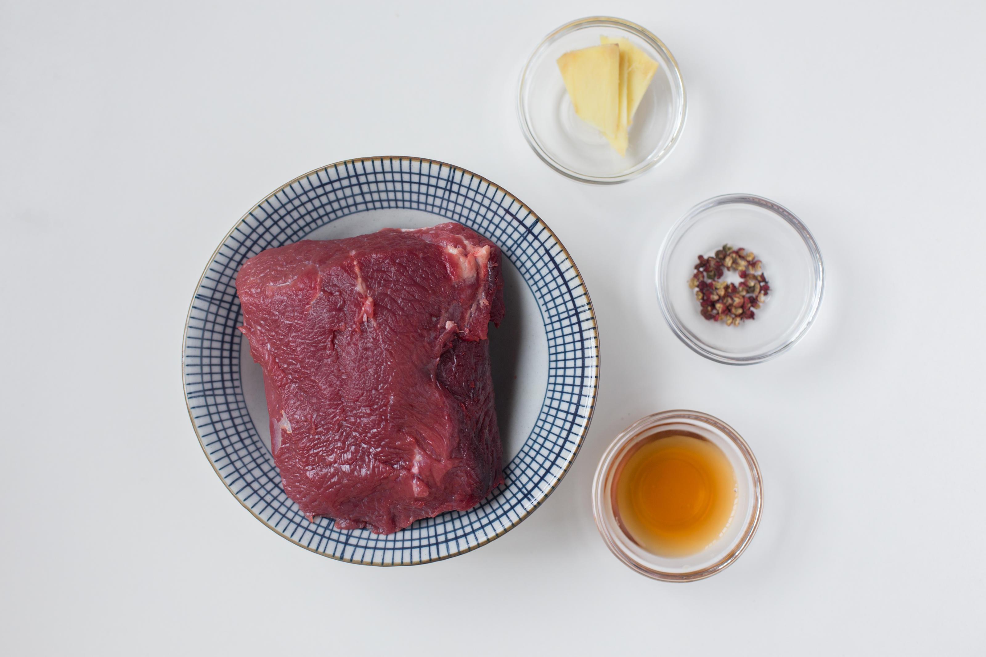 冷吃牛肉(好吃到停不下来)的做法 步骤1