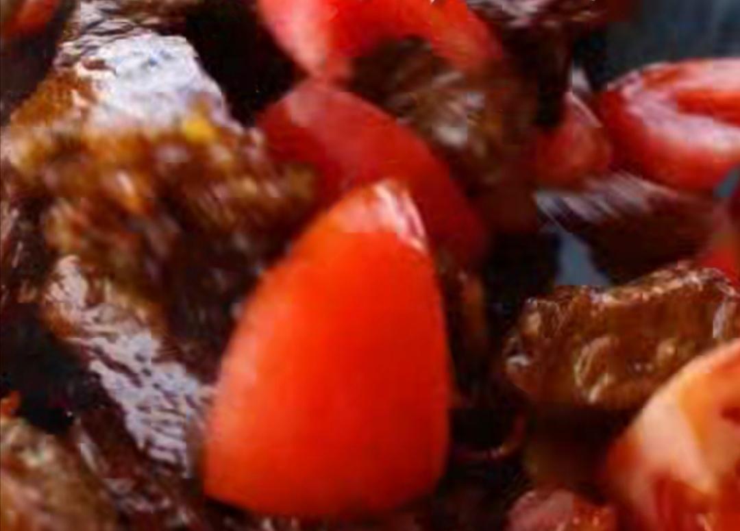 一分钟就能学会的私家版番茄炖牛腩的做法 步骤5